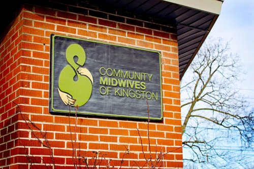 Community Midwives of Kingston Front Signage